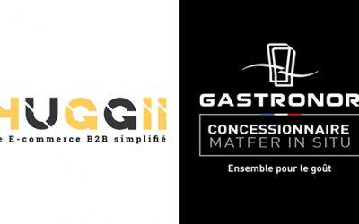 Gastronor intègre son catalogue sur HUGGII.