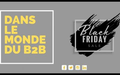 Le BLACK FRIDAY dans le monde du B2B