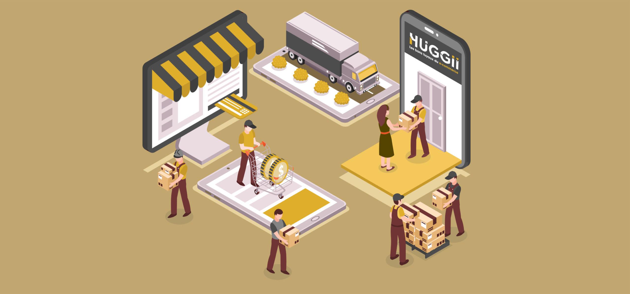 Huggii, la solution qui est utilisé par les grossistes, distributeurs