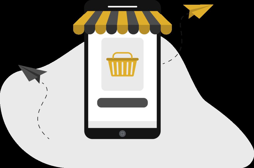 Design téléphone e-commerce