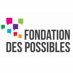 Logo de la fondation des possibles